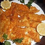 recette Filets de merlan panés aux corn flakes