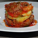recette Galettes de viande hachée fourrées aux pomme de terre