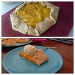 recette Tarte rustique à la mangue