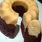 recette Gâteau marbré façon savane au thermomix