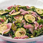 recette Salade de courgettes, jambon et céleri