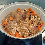 recette Osso bucco de dinde aux carottes et champignons