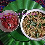 recette Riz épicé improvisé aux chipolatas