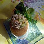 recette Kiwis farcis au tartare de la mer