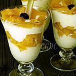 recette Tiramisu à la compotée d'ananas flambé au rhum et mascarpone à la vanille