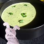recette Soupe de courgette au boursin