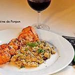 recette Brochettes de poulet et quinoa
