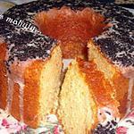 recette couronne orange chocolat blanc et quatres épices...