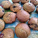 recette Muffins a l'avoine et aux fruits rouges