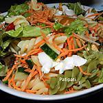 recette Salade pour tenir compagnie à vos grillades
