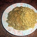 recette Sauté de porc et son riz aux saveurs exotiques