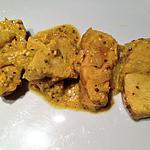 recette Filet de dinde curry et moutarde à l'ancienne