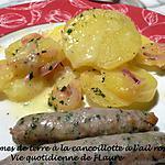 recette Pommes de terre à la cancoillotte à l'ail rose