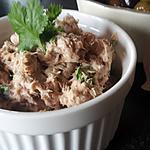 recette Rillettes de thon aux herbes fraîches en 2min