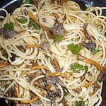 recette Spaghetti aux chanterelles