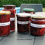 recette Confitures de figues à la cannelle