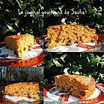 recette Moelleux aux pommes raisins et amandes