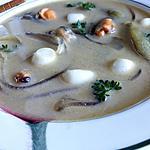 recette Soupe curry laksa aux fruits de mer