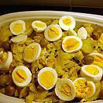 recette Bacalhau à Gomes de Sà (Morue pommes de terre oignons)