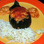 recette Courgette ronde farcie aux fruits de mer