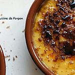 recette Crème catalane parfumée à la cannelle et au citron