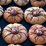 recette Sablés araignées Halloween -thermomix-