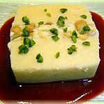 recette Nougat glacé aux coulis de fruits rouges
