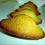 recette Madeleines au pain d'épices