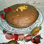 recette Gâteau automnal à la farine de châtaigne