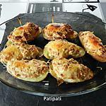recette Pomme de terre farcies au salami