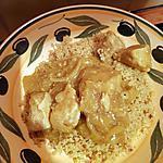 recette Poulet aux épices, semoule aux épices