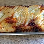 recette gâteau caraméliser aux poires
