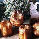 recette Cannelés pina colada