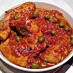 recette Cuisses de poulet sauce chasseur