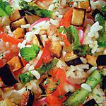 recette Salade variée au vinaigre de framboises