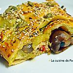 recette Feuilleté de sardine à la crème d'anchois