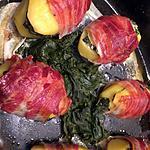 recette pomme de terre farci aux épinards