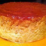 recette Gâteau de riz au caramel -thermomix-