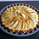 recette Tarte aux pommes à l'alsacienne