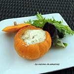 recette Courge Jack be little oeuf cocotte