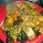 recette Tajine d agneau aux pruneaux,carotte et courge