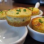 recette Mini cheesecake au chorizo et ciboulette