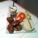 recette Keftedes accompagnées de sa petite sauce au concombre