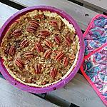 recette Tarte aux noix de pécan et sirop d'érable