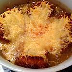 recette Soupe à l'oignon et croûtons gratinés