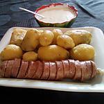 recette Saucisson chaud et son sarrasson