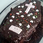 recette Gâteau cercueil Halloween