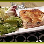 recette Quiche sans pâte aux Champignons et Bacon