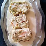 recette Pâté de poisson au crabe et aux crevettes