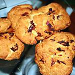 recette COOKIES AUX TOMATES SECHEES